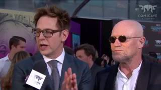 James Gunn on Building Spaceships at the Guardians of the Galaxy Vol. 2 Red Carpet Premiere