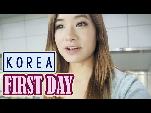First Day in Korea, Seoul | Shopping at Express Bus Terminal & Myeongdong