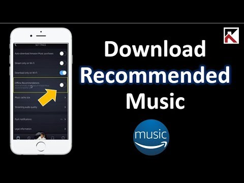 How To Automatically Download Recommended Music Amazon Music
