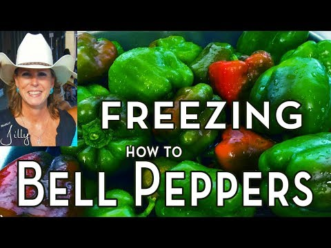 How to Freeze Bell Peppers Without Blanching