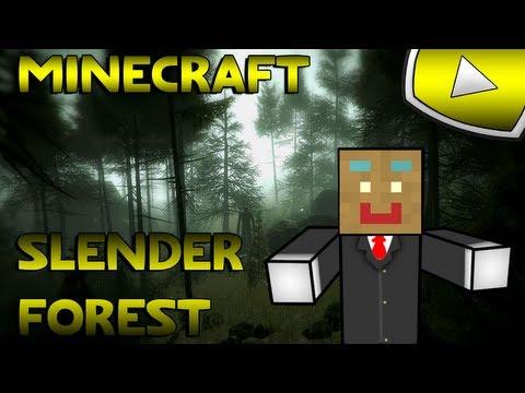 Minecraft : Slender Forest | BRIOCHE LE STALKER :'(