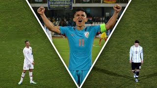 Who is Sunil Chhetri, the Indian player who scored more international goals than Messi? - Oh My Goal