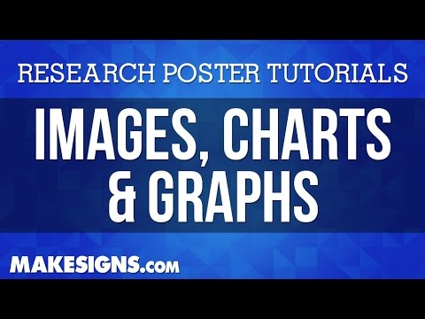 Images, Charts, & Graphs  -  Scientific Poster Tutorials for Microsoft Powerpoint – MakeSigns.com