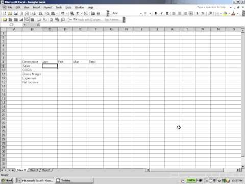 Excel 2003:  Saving Files in excel