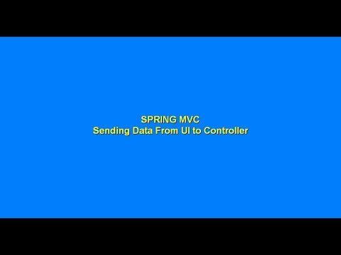 Sending data from UI to Controller using parameter in Spring MVC