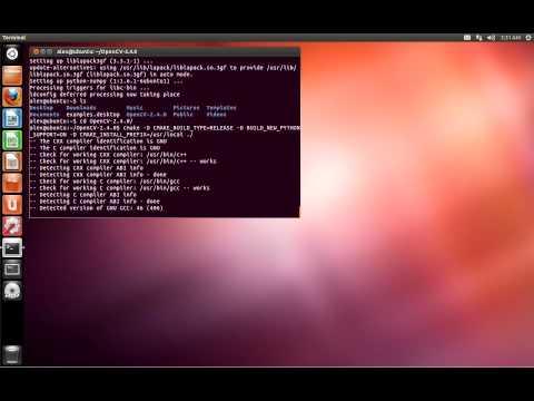 Установка OpenCV на Ubuntu 12.04