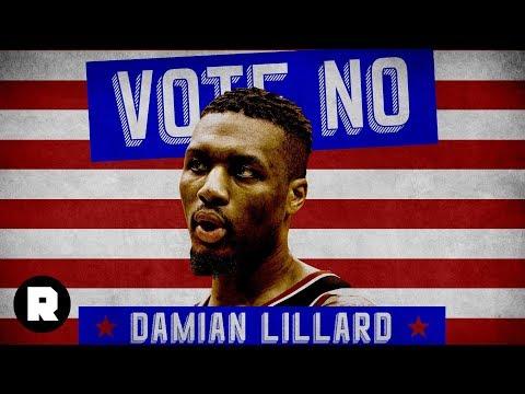 Vote NO for Damian Lillard   2018 NBA MVP Attack Ads   The Ringer