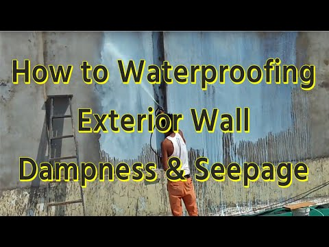 How to  Solve Dampness  &  Seepage from Exterier Wall