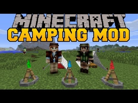 Minecraft: The Camping Mod - Mod Showcase