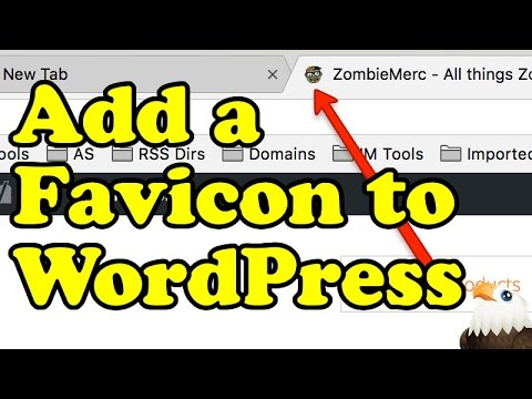 How to ADD A FAVICON to WordPress