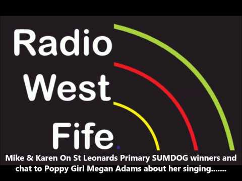 Mike & Karen On St Leonards Primary SUMDOG winners, chat to Poppy Girl Megan Adams