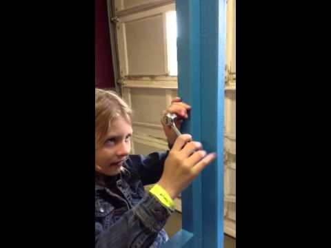 Haylee using a Socket Wrench