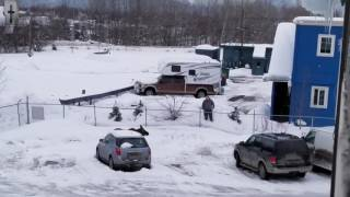 A man calls a moose to him, and then I witness something awesome.