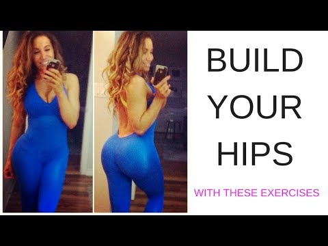 BUILD YOUR HIPS - Exercises to FIX your HIP DIPS