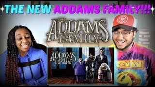 """THE ADDAMS FAMILY"" Official Trailer REACTION!!!"