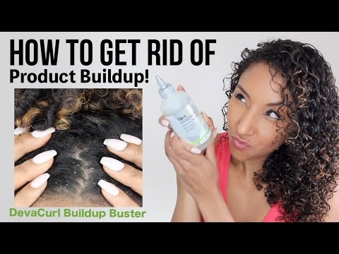 How To Get Rid Of Product Buildup! DevaCurl Buildup Buster!| BiancaReneeToday