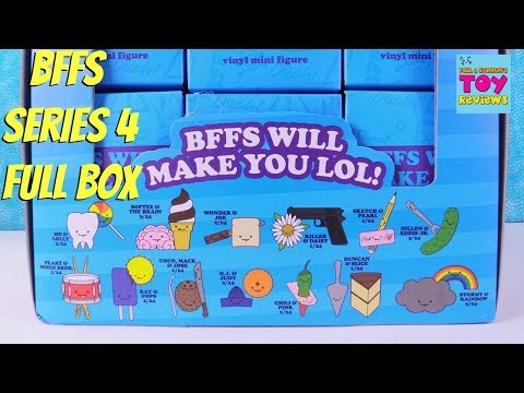 Kidrobot BFFS Series 4 Love Hurts Blind Box Vinyl Figures Review Unboxing   PSToyReviews