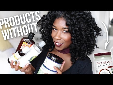 Natural Hair Products WITHOUT Coconut Oil I've Been Using!