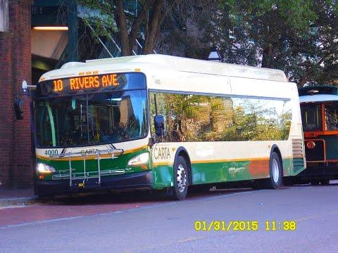 CARTA: Bus Observations - New Flyer D35LFRs & XDE40s (January 2015)