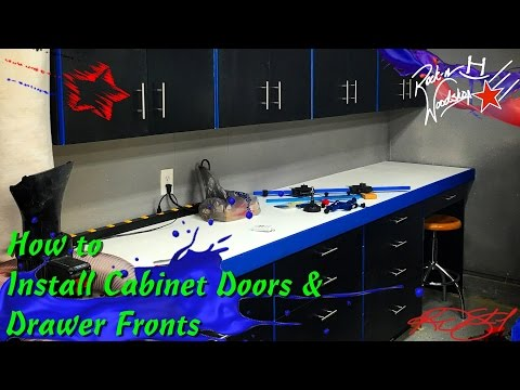 How to Install Cabinet Door and Drawer Fronts