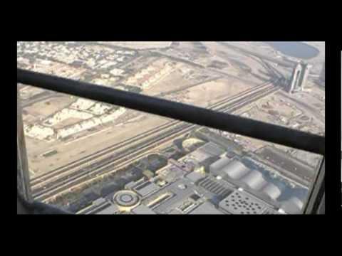 Journey to Burj Khalifa (Burj Dubai) رحلة الى برج خليفة برج دبي سابقا