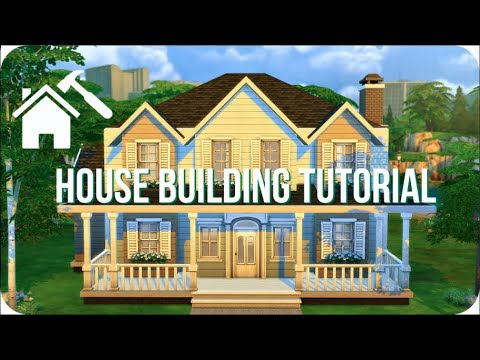 STEP BY STEP HOUSE TUTORIAL | Sims 4 How To Build A House