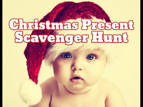 Christmas Present Scavenger Hunt Idea (HD) - Christmas Morning Treasure Hunt