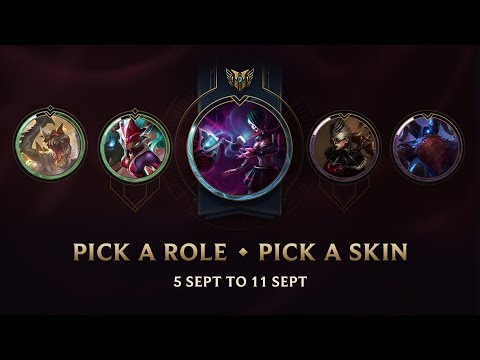 Roles of the Week (5 Sept to 11 Sept 2017)
