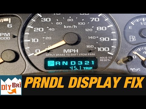How To Fix PRNDL Odometer Display on GM Trucks
