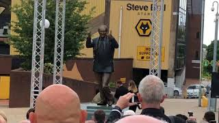 Unveiling The Statue Of Our Beloved Sir Jack Hayward| (14/06/2018)| 🖤🐺🧡