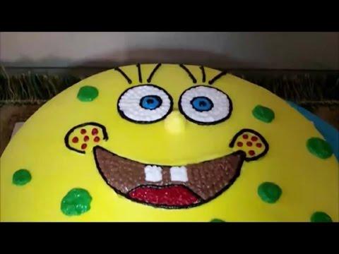 SpongeBob Cake Unique How to Make