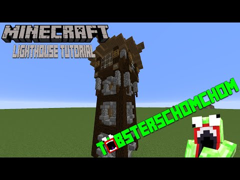 How to Build a Medieval Lighthouse In Minecraft!
