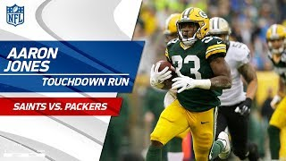 Aaron Jones Carries Green Bay on Big Opening TD Drive! | Saints vs. Packers | NFL Wk 7 Highlights