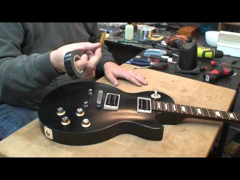 2013 Gibson Les Paul 50's Tribute: Faux Binding and Chrome PU Covers!