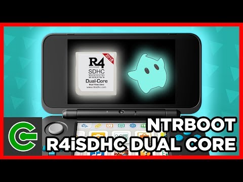 How to do ntrboot using R4i SDHC Dual Core 2018