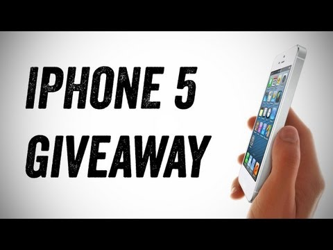 Double iPhone 5 Giveaway! (International iPhone 5 Giveaway)