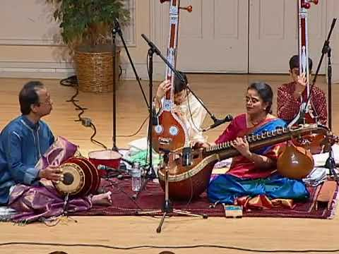 Sreevidhya Chandramouli with Poovalur Sriji: South Indian Classical Music from Oregon