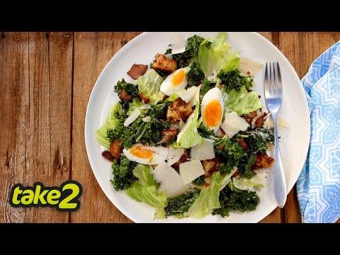 Caesar Salad Recipe with Kale - Woolworths Take 2