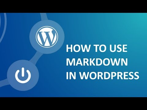 How to install and activate markdown plugin in wordpress