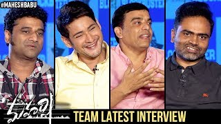 Maharshi Movie Team Latest Interview | Mahesh Babu | Vamshi Paidipally | Dil Raju | DSP