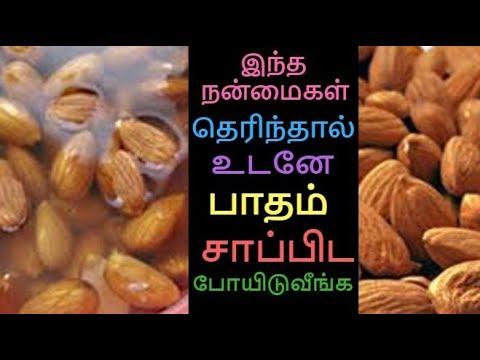 ஊற வைத்த பாதம் சாப்பிட்டால் என்ன நடக்கும் தெரியுமா? Benefits of Soaked Almonds for Skin & Health