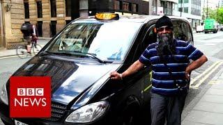 Manchester Attack: This cabbie embodies Mancunian spirit - BBC News