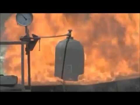 GAS EXPLOSION - The effects of different charge capacity LPG cylinders explosion
