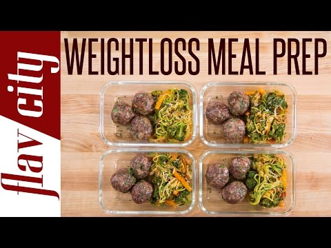 Healthy Meal Prepping - Tasty Weight Loss Recipes