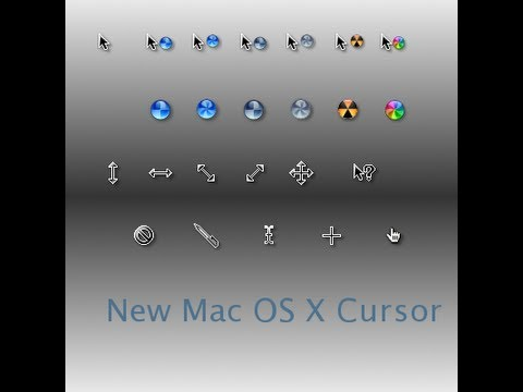 How to get the mac cursors for windows 7