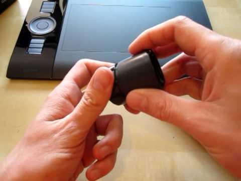 Intuos4 pen holder pen tips