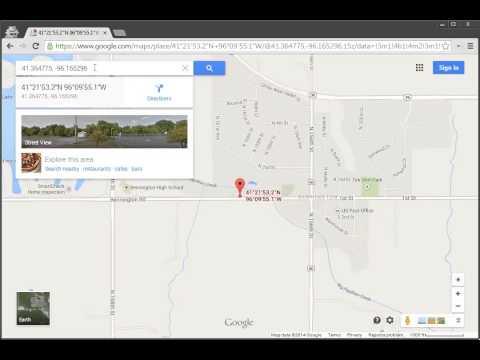 Google Maps   Find Latitude and Longitude