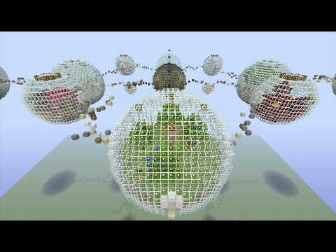 Minecraft (Xbox 360) - Bubble Biome - Hunger Games