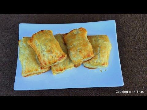 Chicken Puff Pastry- Chicken Puffs Recipe