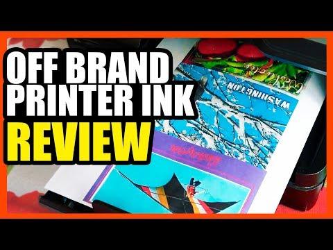 Off Brand Printer Ink Review- HP vs LxTek